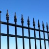 Modern Home Iron Fence With Black Color