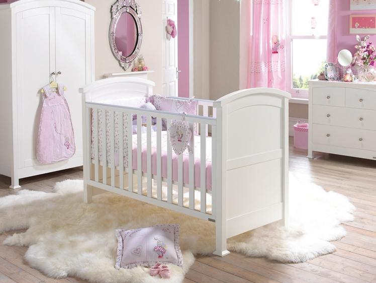 Modern White Baby Bedroom Design Idea
