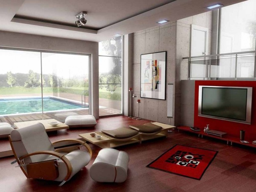 Nice Family Room Design For Modern House