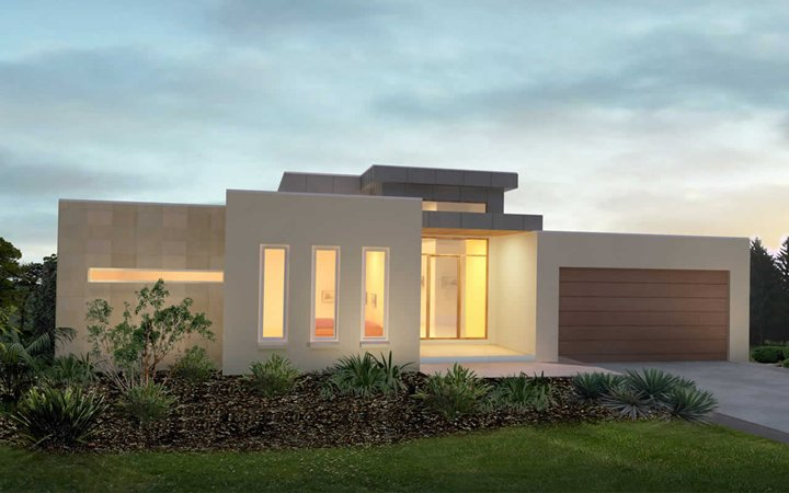 Simple Elegant One Storey Home Design