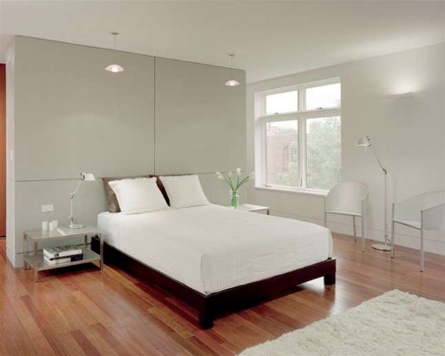 Simple Minimalist Bedroom Interior Design Photo