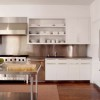 Simple White Furniture Set Design For Kitchen