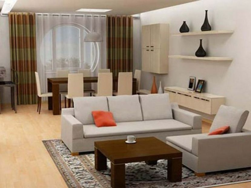 Small And Simple Living Room Inspiration