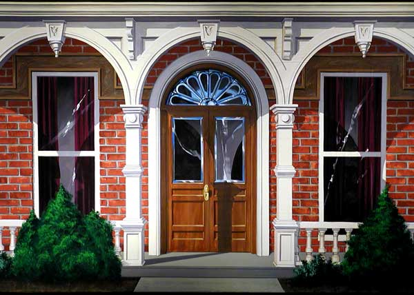 Small Door Design For Victorian House
