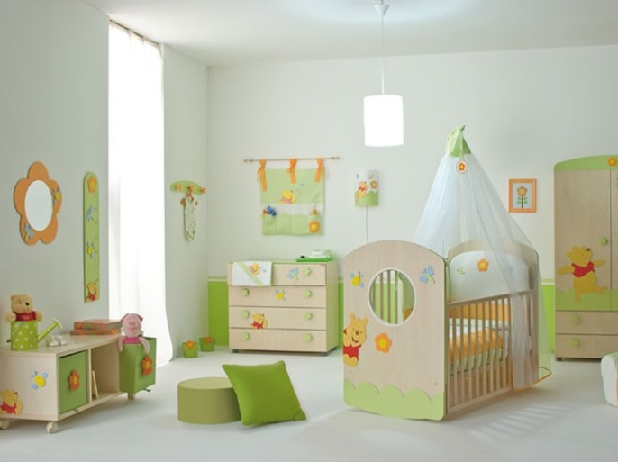 Beautiful Baby Bedroom Decoration Design Inspiration