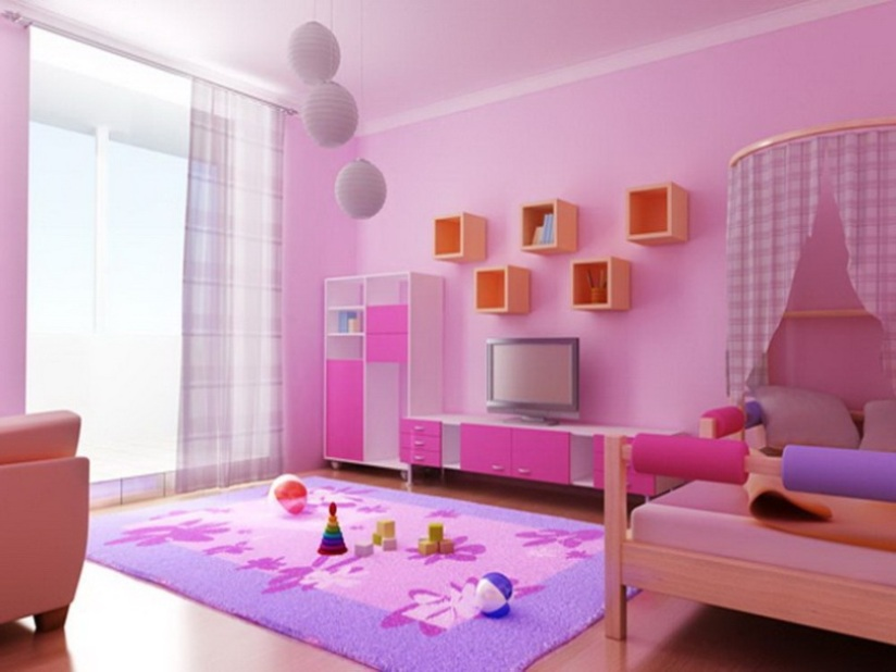 Beautiful Bedroom Design With Pink Color - 4 Home Ideas