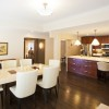 Beautiful Brown Kitchen And Dining Room