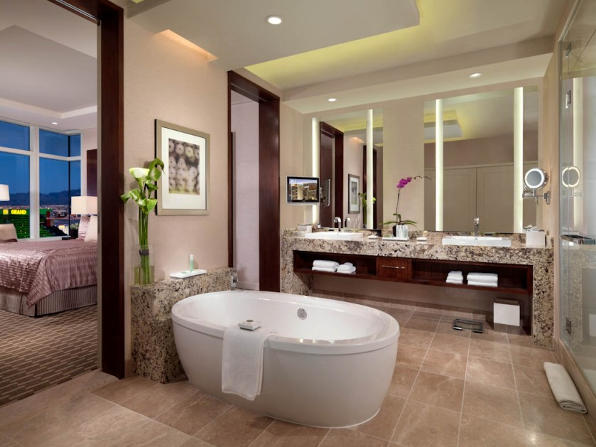 Awesome Beautiful Nice Bathroom Interior Decoration Layout