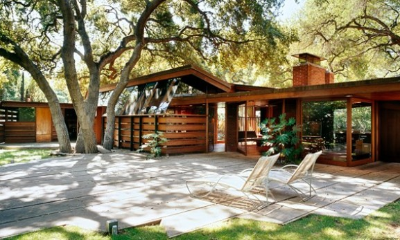 Beautiful Wooden House Exterior Layout Design