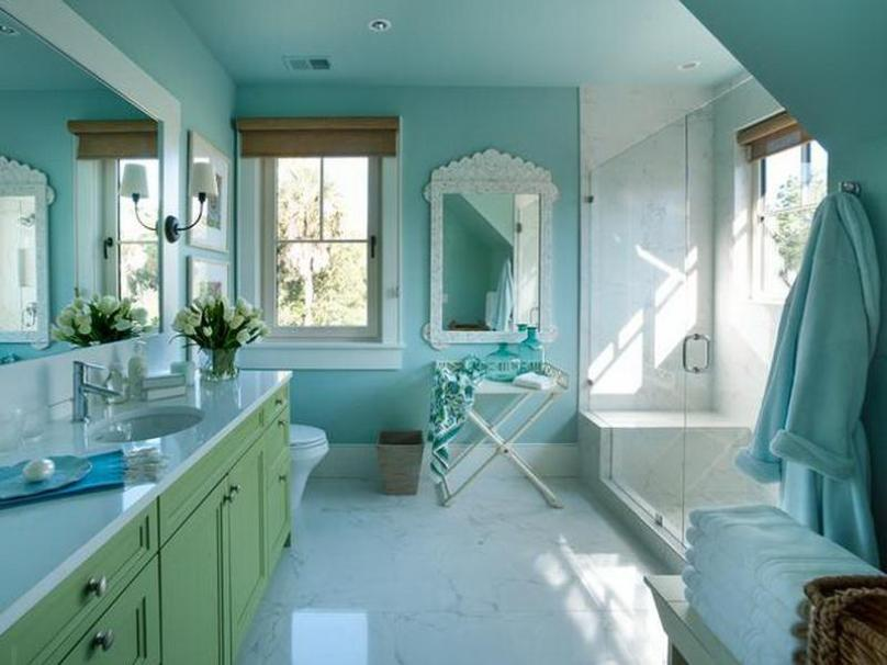 Blue Bathroom Furniture Ideas Tips