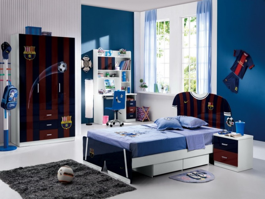 Cool Bedroom Interior Decor For Boys
