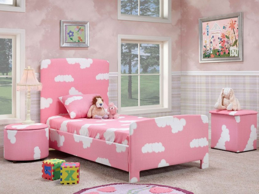 Cozy Girls Bedroom Interior Decoration Idea