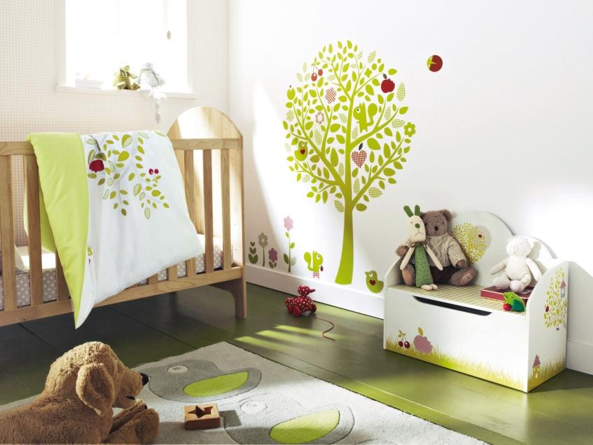 Cute Decor Idea For Baby Bedroom Interior