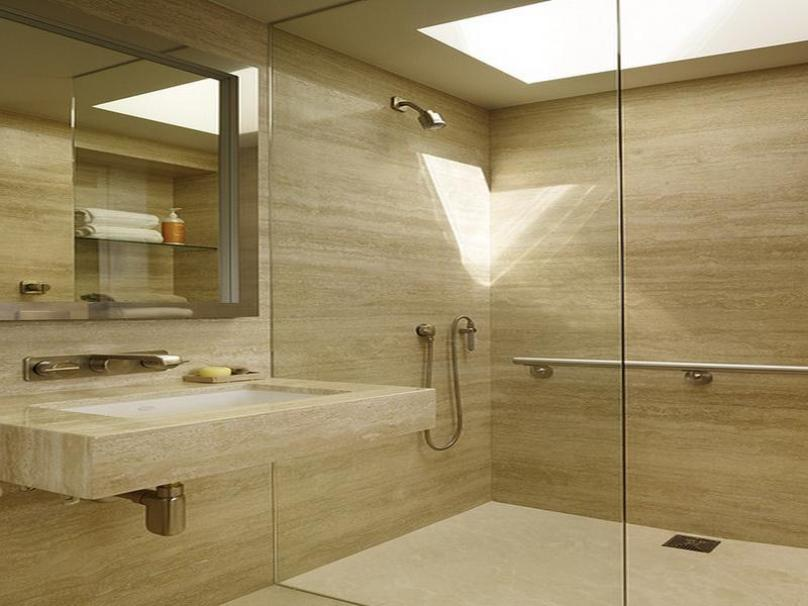 Elegant Paint Color For Small Bathroom