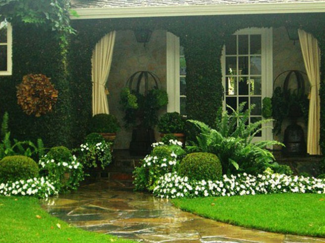 Fresh Home Garden Design For Exterior