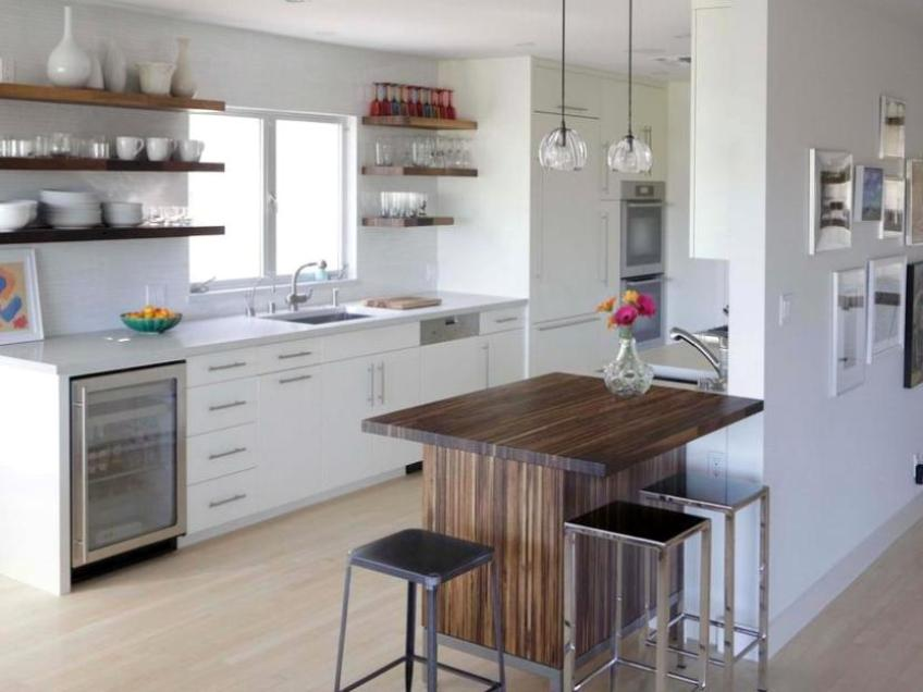 Fresh Kitchen Interior For Modern House