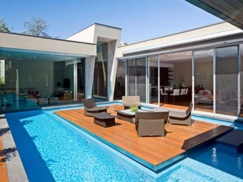 gallery for small dream house with pool