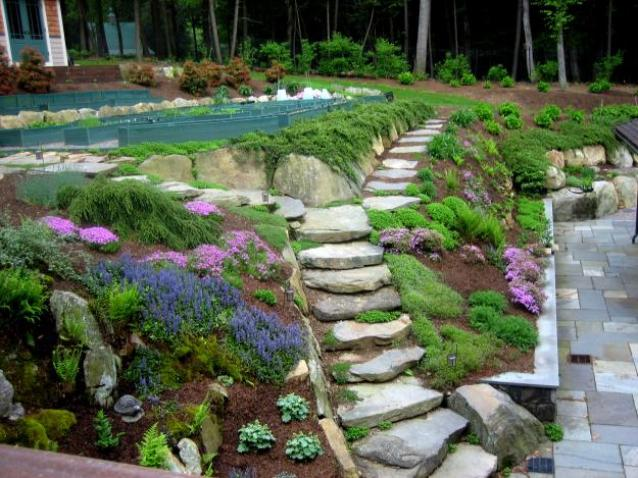 Inspiring Garden Layout For Modern House