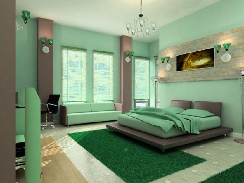 Light Green Paint For Home Bedroom