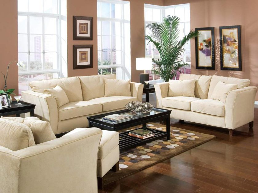 Living Room Design With Neutral Color