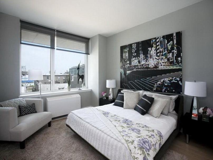 Make Your Gray Bedroom Look Modern