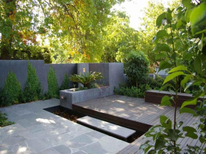 Minimalist Garden Design For Home Yard
