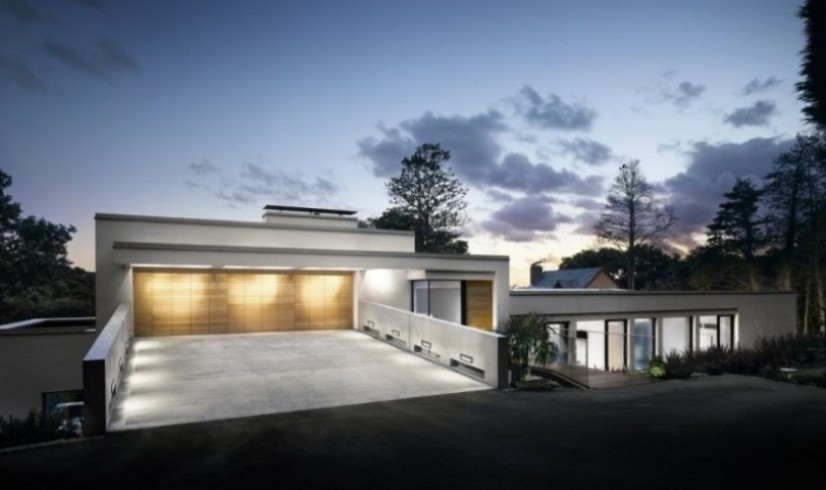 Minimalist Home Exterior Design Idea Photo