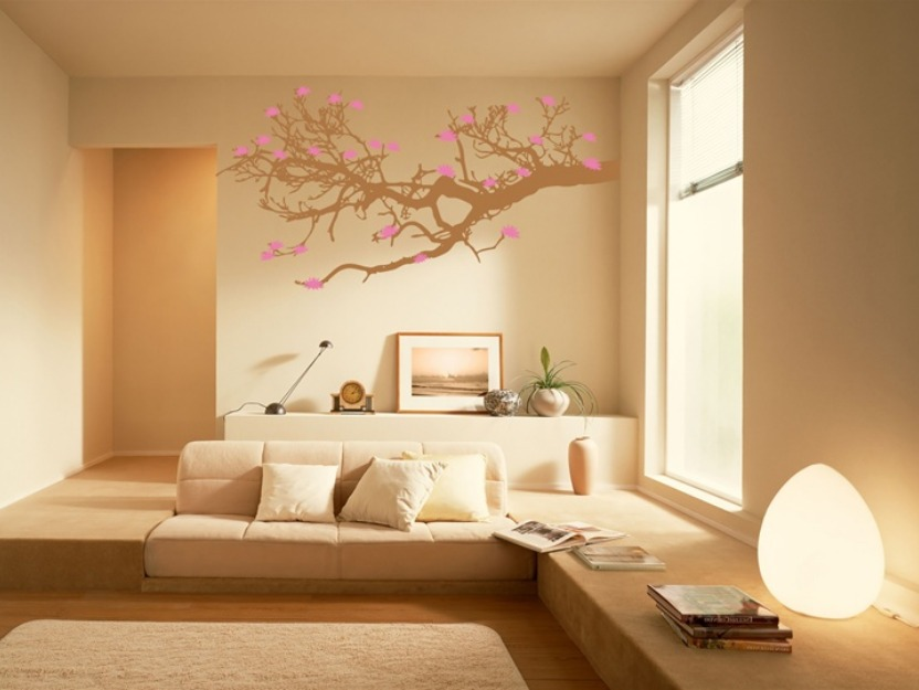 Wall paint to make room look bigger 4 home ideas for Small room minimalist design