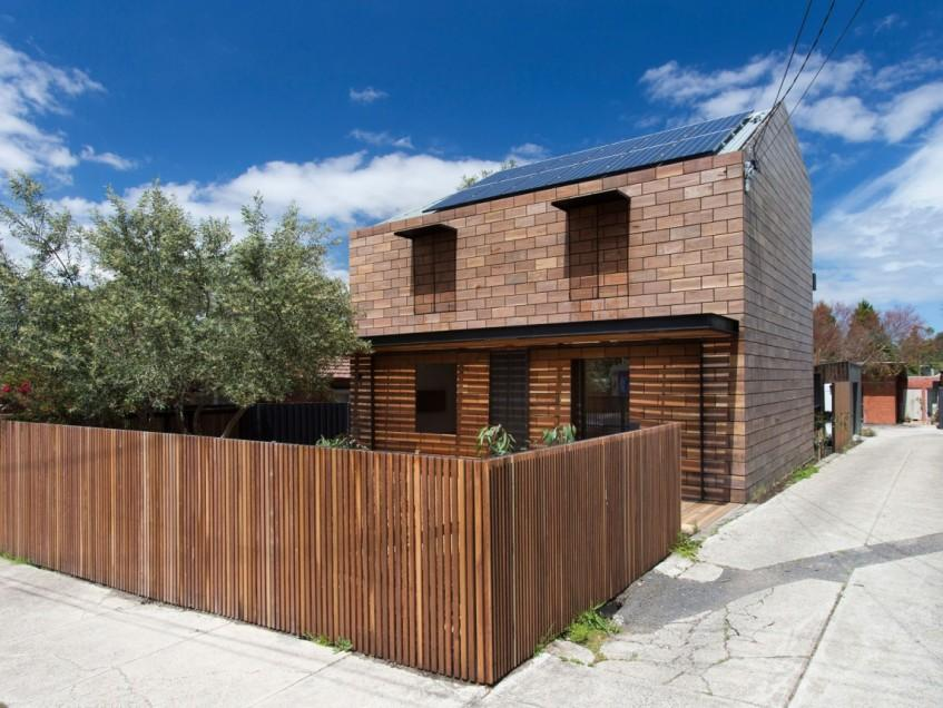 Minimalist Wooden Fence Design For Home