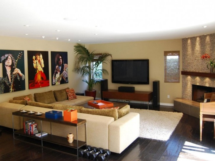 Modern Family Room Interior Design Inspiration