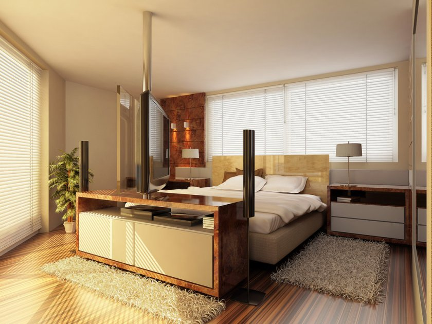 Modern Minimalist Bedroom Furniture Design Model