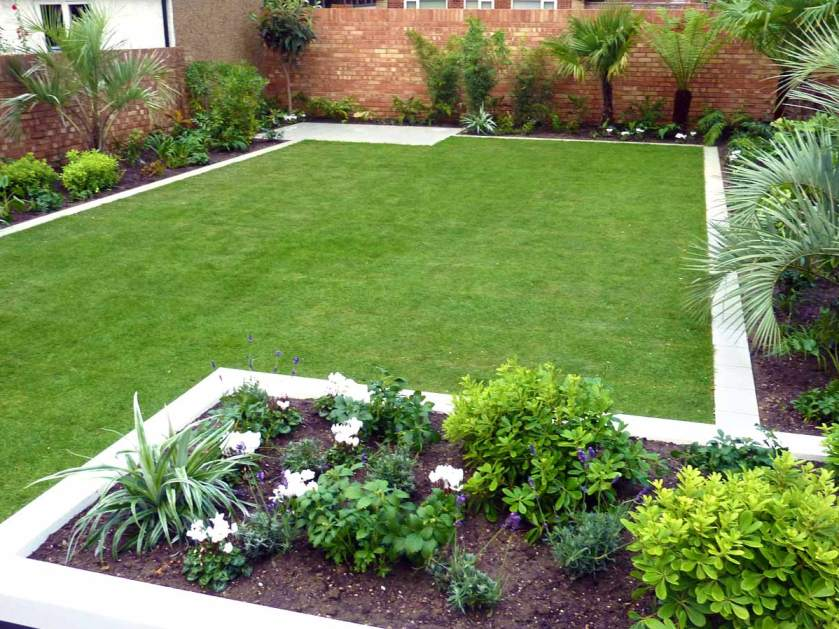 Modern Minimalist Home Garden Layout Idea - 4 Home Ideas