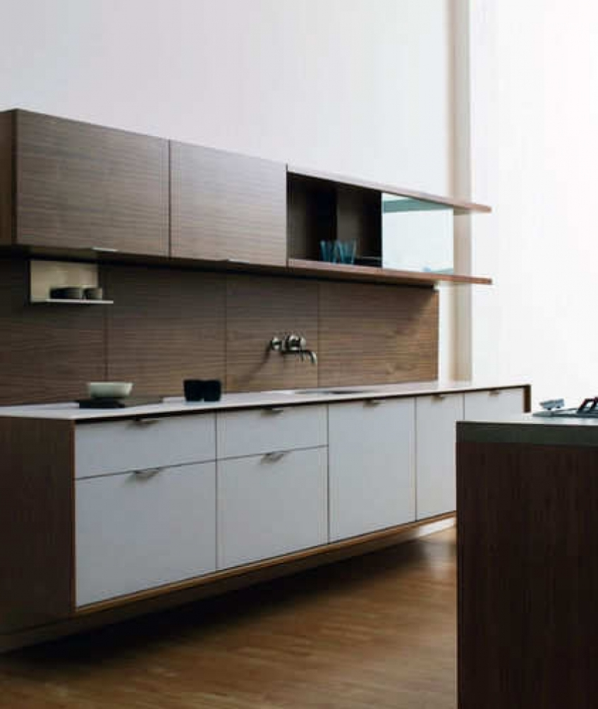 Simple Minimalist Kitchen Interior Design Image
