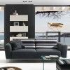 Stylish Black Theme Living Room Design