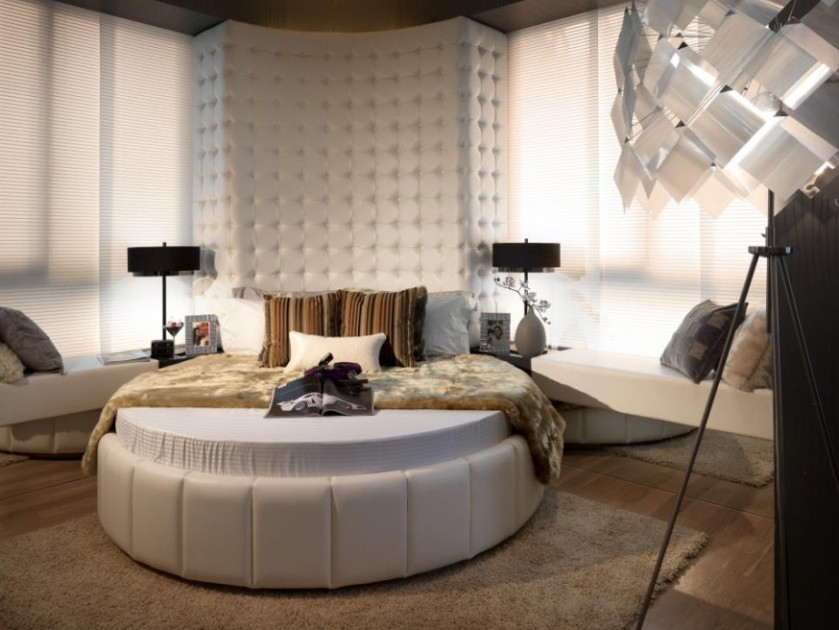 Unique Bed Design For Modern Bedroom