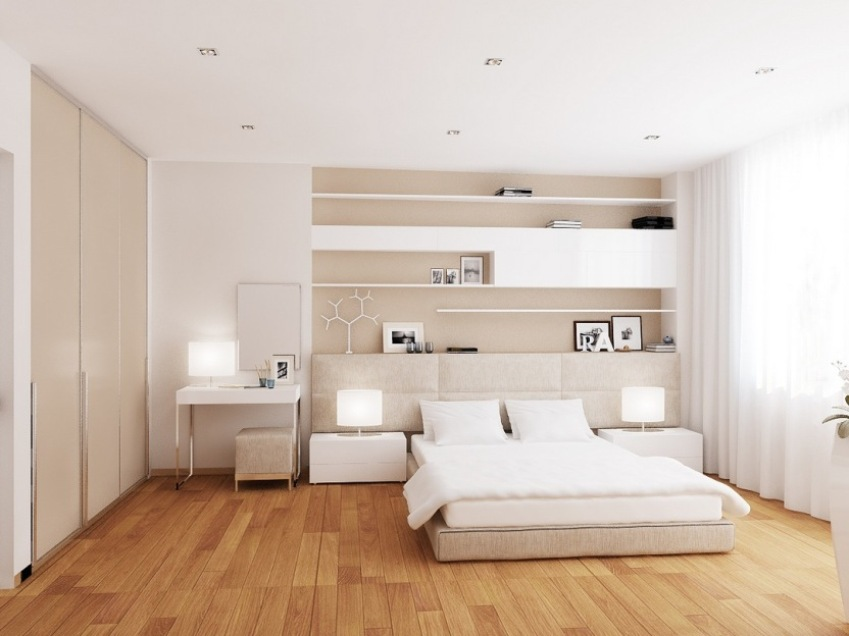 White Theme Idea For Minimalist Home