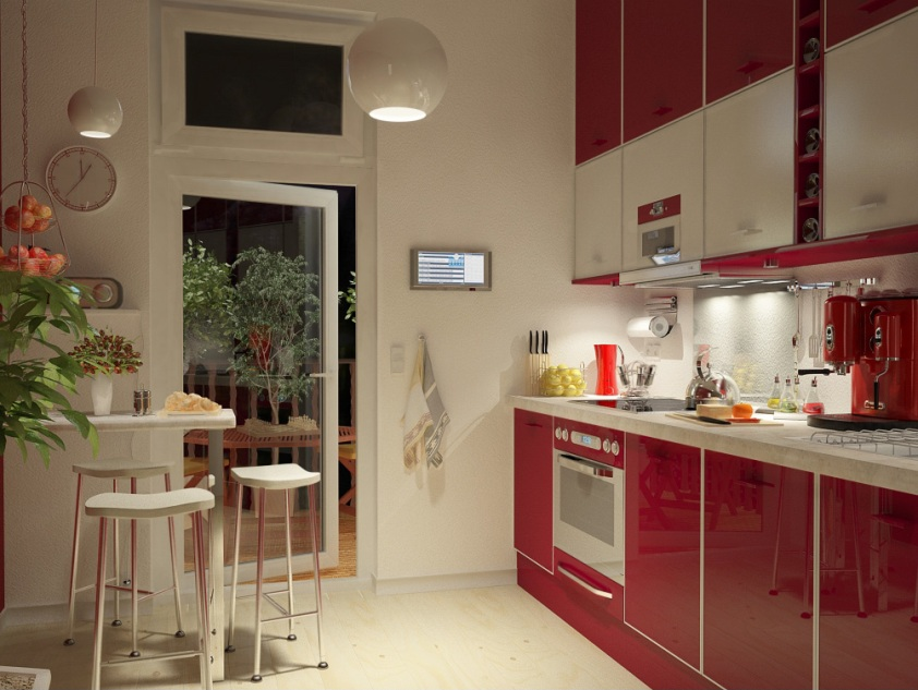 Beautiful Home Kitchen Furniture Color Tips