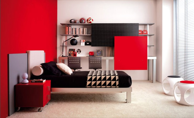 Color Combination For Teenage Bedroom