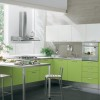 Green Paint To Make Kitchen Look Fresh