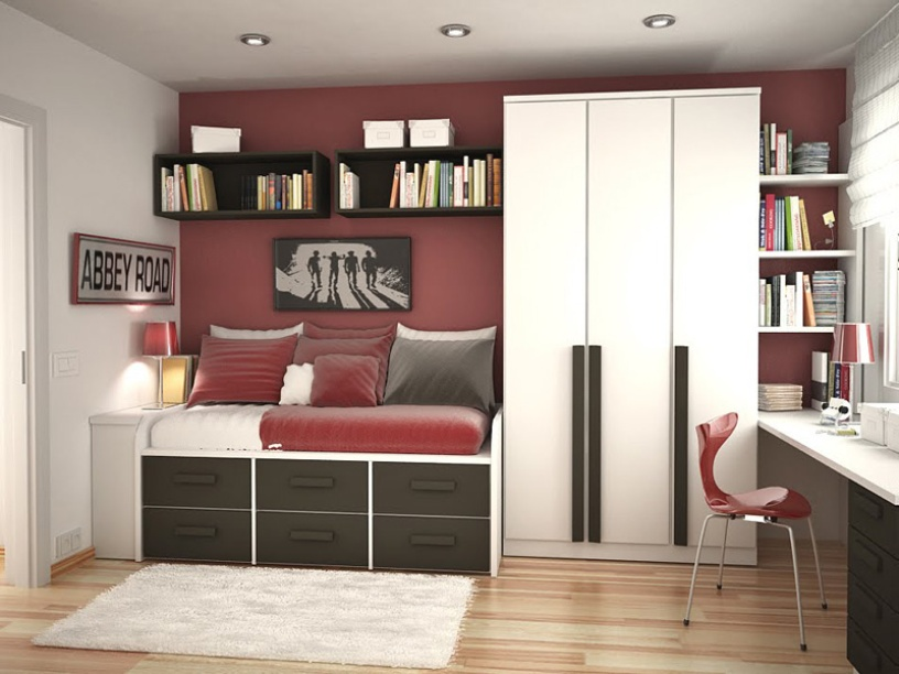 Minimalist Teenage Bedroom Design Budget - 4 Home Ideas