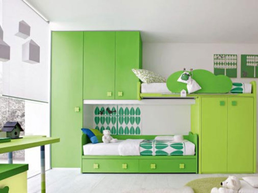 Modern Green Bedroom Design Ideas