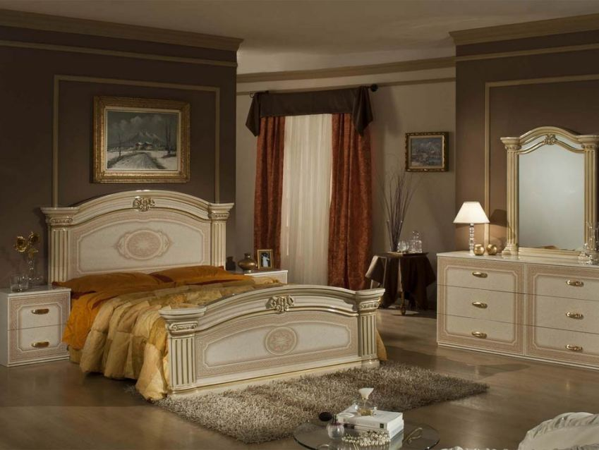 Paint Idea To Make Bedroom Look Classic