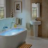 Simple Beautiful Bathroom Interior Layout