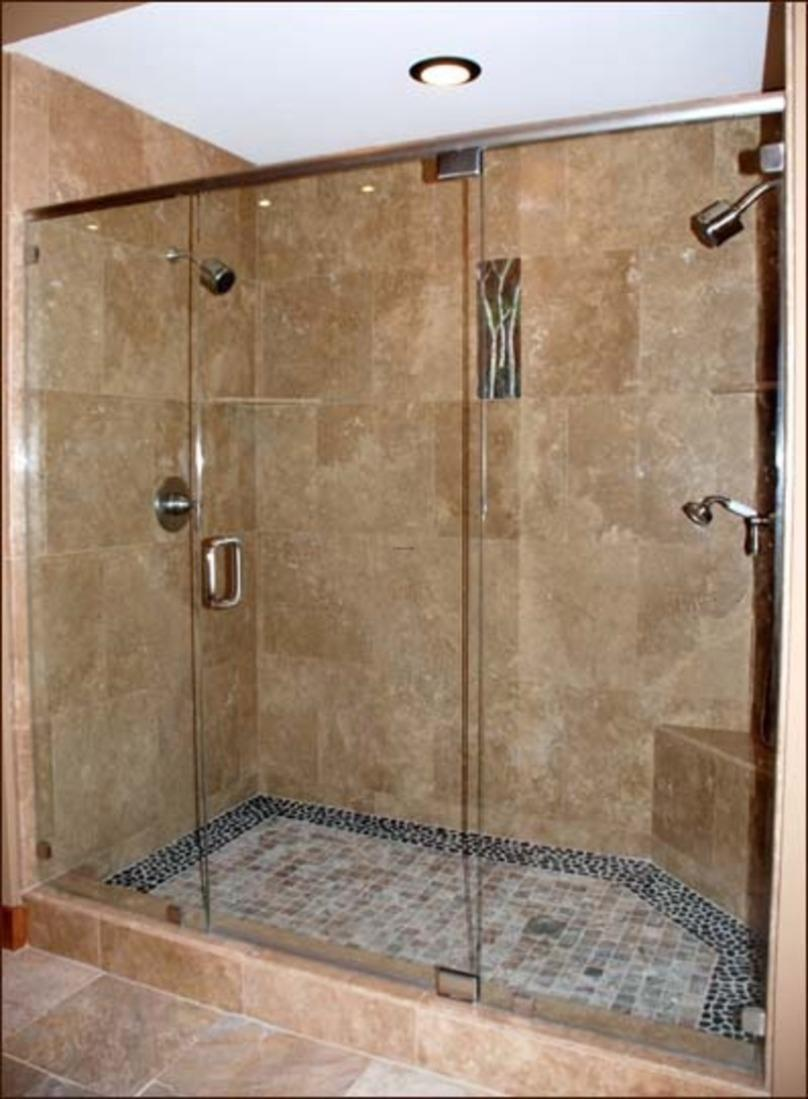 Small Shower To Make Bathroom Look Nice