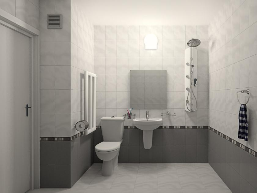 Trend Small Bathroom Model 2014 White Paint To Make Look Nice