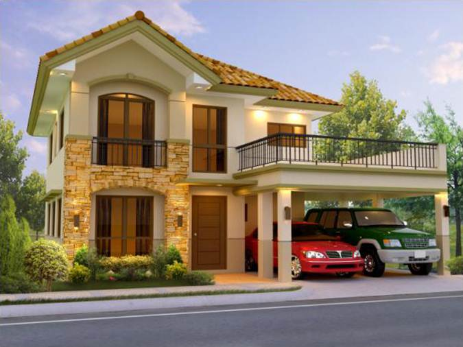 2 story house for new family - House Models Pictures