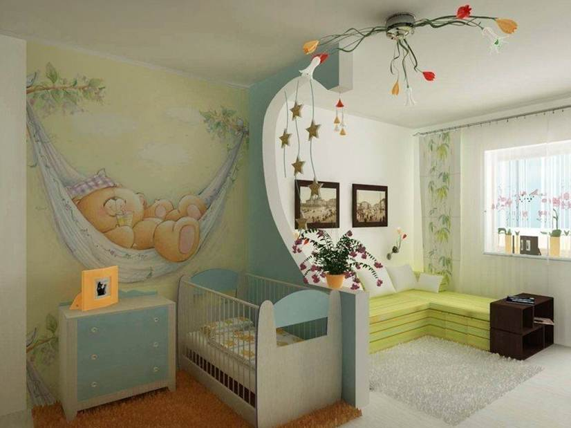 Baby's Room Design With Fairy Tale Theme