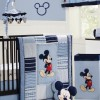 Beautiful Baby Nursery With Mickey Theme
