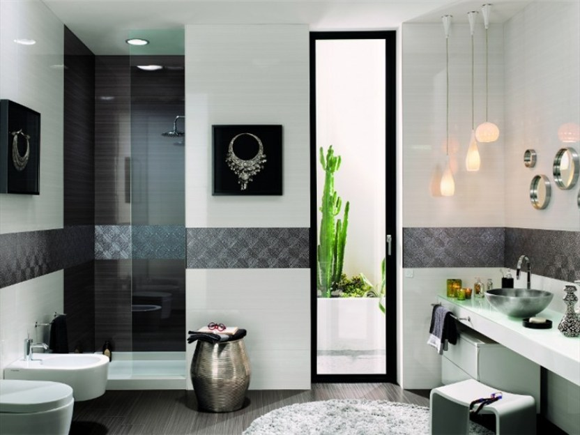 Beautiful Ceramic Design For Bathroom