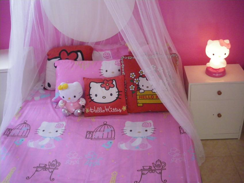 Beautiful Hello Kitty Bedroom Interior